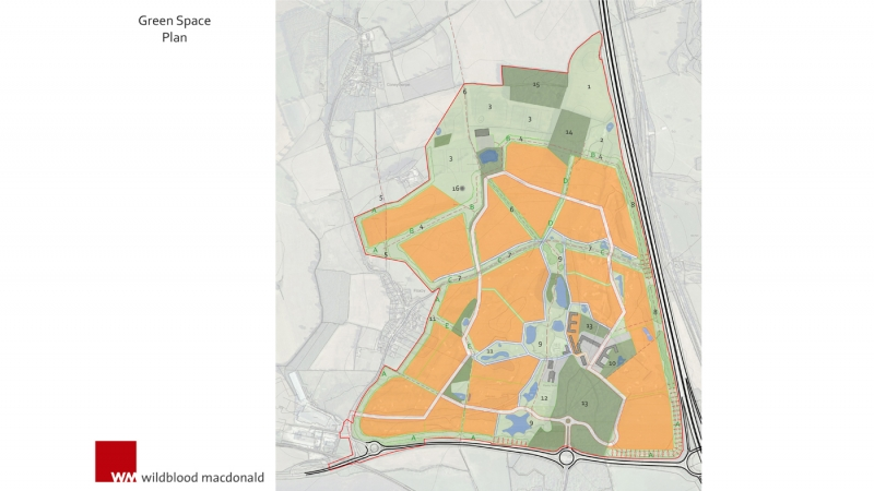 Flaxby Greenspace Plan 1400x787 copyright Wildblood Macdonald